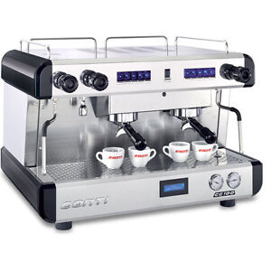 NEARLY NEW  CONTI 2 GROUP ESPRESSO MACHINE - CC100