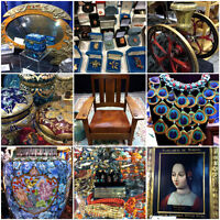KERRISDALE ANTIQUES FAIR - Sat & Sun - SEPT 2 & 3 - 10am-5pm