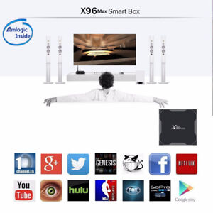 Android TV Box X96 MAX Amlogic S905X2 4GB/32GB Android 8.1 4K
