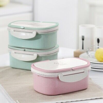 - Stainless Steel Thermal Insulated Lunch Box Bento Food Container Student School