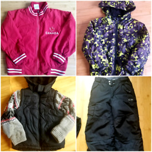 Size 6/7 jackets amd snowpants
