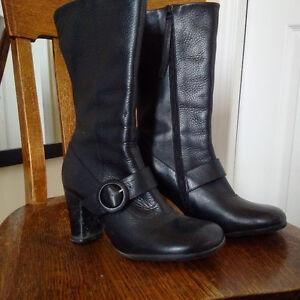 Fluevog Sopranos Stefani Black Women Size 9.5 boots (worn once)