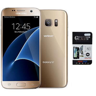 NEW Samsung Galaxy S7 SM-G930V - 32GB Gold Verizon & GSM Network Unlocked