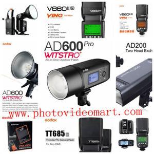 GodoxAD600BM/600B/600PRO/AD200/AD360II/V860II/685S,N,C/PB960