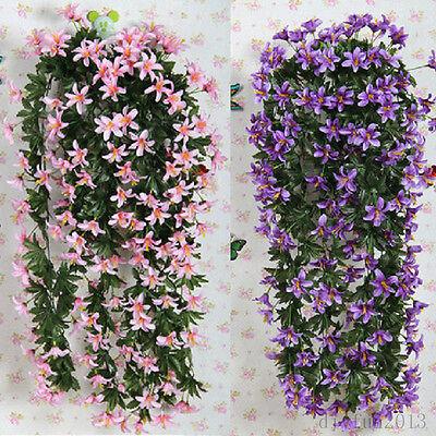 1 Bunch Lily Bracketplant Hanging Garland Flowers Vine Home Wedding Decor New - Garland Flowers