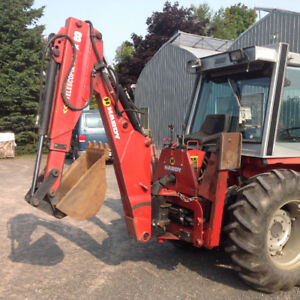 Backhoe Hardy 8DL pépine