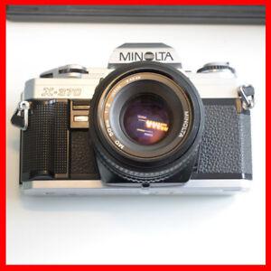 Minolta 50mm F2 manual lens + Minolta X-370 camera