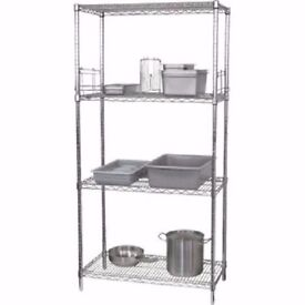 Wire Shelving Kit 4 Tier 1525(W) x 610(D)mm
