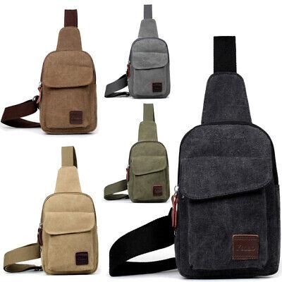 rossbag Schultertasche Umhänge Tasche Crossbody mit USB Port (Herren-brust)