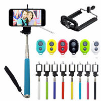 BLUE Selfie Stick Extensible + Telecommande Bluetooth