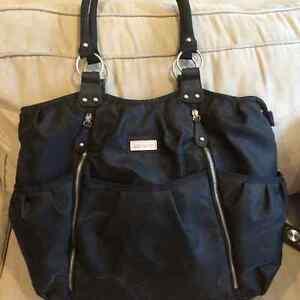 Carters  black diaper bag