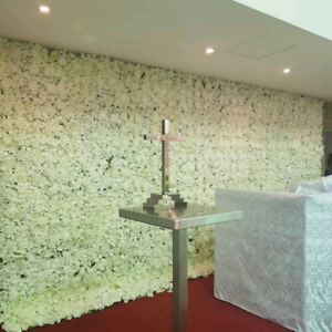 Real touch Flower wall for hire for all occasions event party