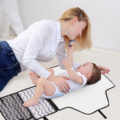 Outdoor Travel Portable Nappy Changing Mat Diaper Large Pad