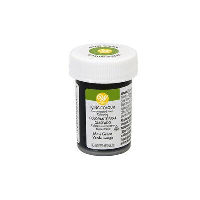 Wilton Icing Color Comestible Concentrado Gel Colorante Alimentario- Musgo Verde