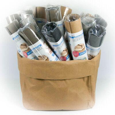 Snap Pap  SnapPap Papier in Lederoptik Kreativpapier - 5 Farben 50x150cm