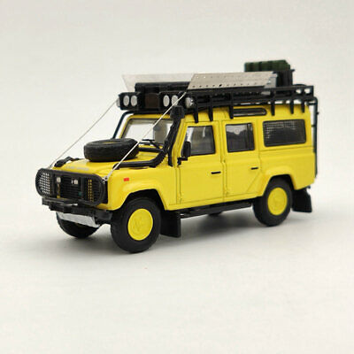 1:64 Master Land Rover Defender 110 Models Diecast Toys Car with Luggage Rack for sale  Shipping to Ireland