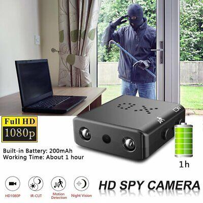 1080P Hidden Camera HD Mini Night Vision Motion Home Security DVR Cam Recording