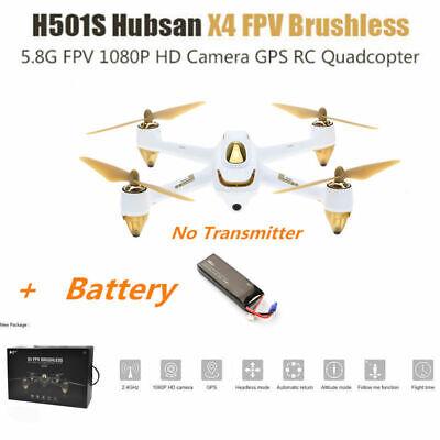 Hubsab H501S S Drone X4 5.8G FPV 1080P Camera GPS RTH RC Quadcopter BNF Creamy
