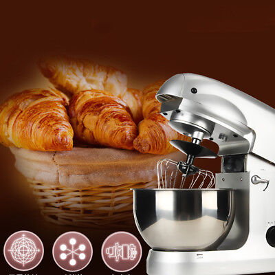 【USA】Multifunctional Stand mixer 5L Food 1000W Dough Knead Machine Meat Grinder