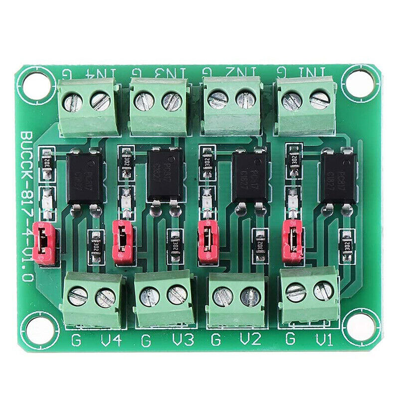 817 Optocoupler 4 Channel Voltage Isolation Board Voltage Control Switching DrY3