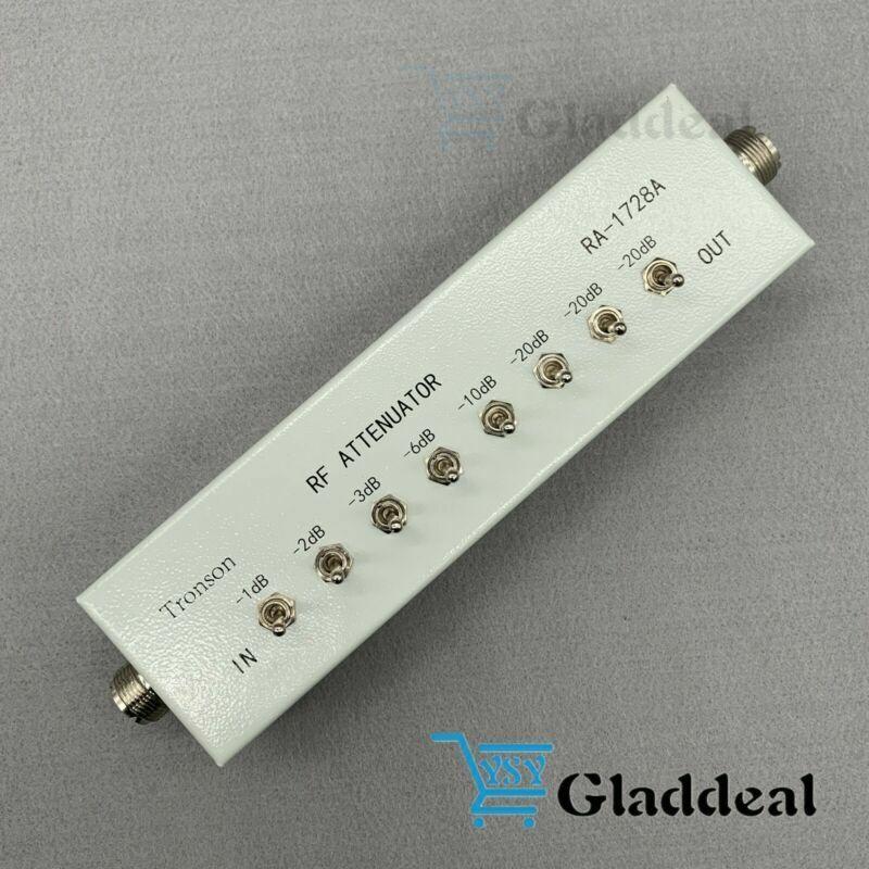 For Ham Radio Transmitter Variable/Step Attenuators RF Attenuator 0- 82DB 50Ω US