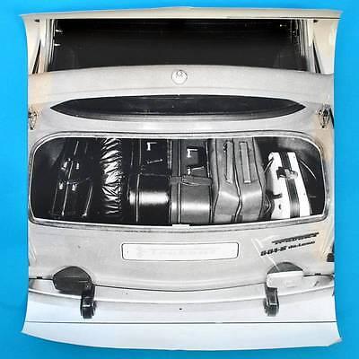 DDR Plakat Poster | IFA-Aushang Trabant 601 Kofferraum | 60 x 50 cm Original B
