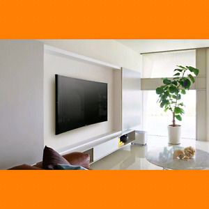 installation television sur le mur 40$ , wall mounting tv