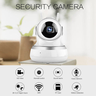 Wireless WIFI HD 1080P IP Camera Outdoor Home Security Night Vision Video Webcam