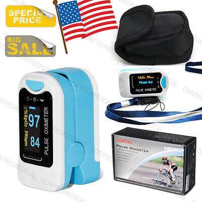 New Finger Pulse Oximeter Blood Oxygen Meter Spo2 Pr Sensor Heart Rate Monitor