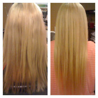 Hair extensions only $250 summer special!