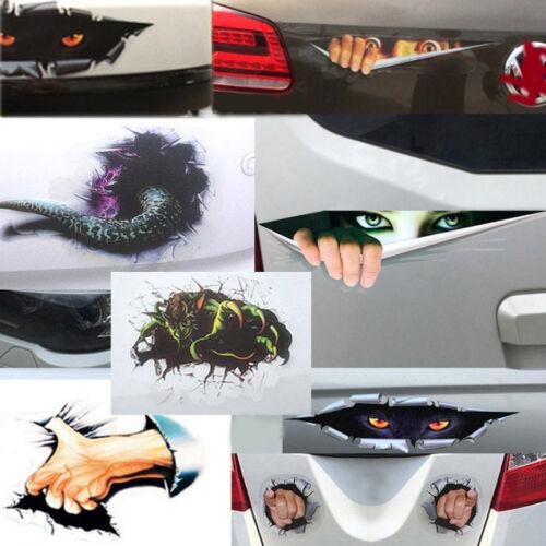 Universal Exterior Horse Funny Window Car Sticker Bump Vinyl Decal