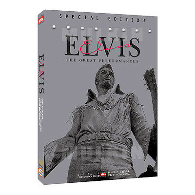 Elvis Presley - The Great Performances vol.1/2/3 (3-Disc) DVD (*New *All Region)