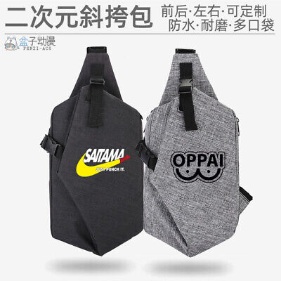 Anime ONE PUNCH-MAN Cosplay Unisex Casual Canvas Messenger - One Punch Man Cosplay Kostüm