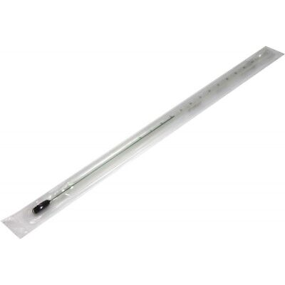 """Brewing Thermometer 12""""- Glass - home brew - beer and wine making - FREE deliver"""