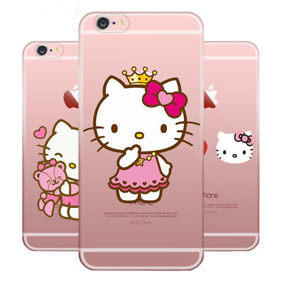 Hello Kitty Phone Case Soft TPU Case Cover For Apple iPhone Samsung and Huawei - Hello Kitty Case Cover