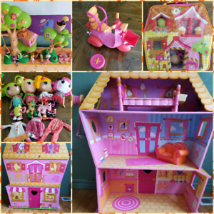 LALALOOPSY Lot (Large Dollhouse)   Make an offer!
