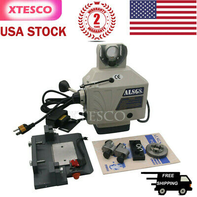 Alsgs 200rpm 110v Power Feed For Vertical Milling Drill Machine X Y Axis Usa