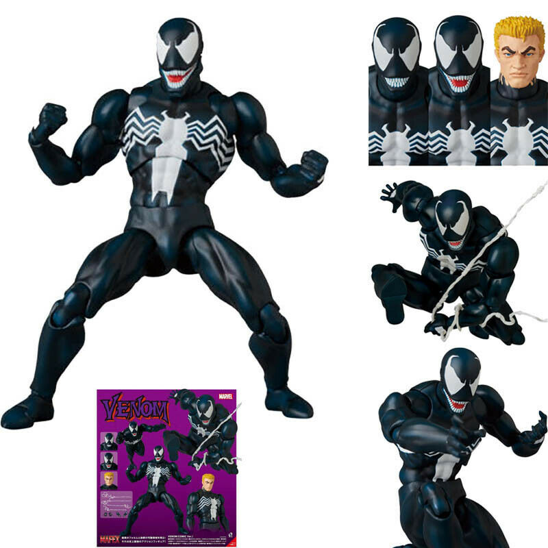 Marvel Comic Spiderman Spider-Man Classic Venom ACTION FIGURE