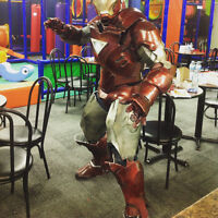 Super hero themed birthday party ( iron man , Spiderman,batman)