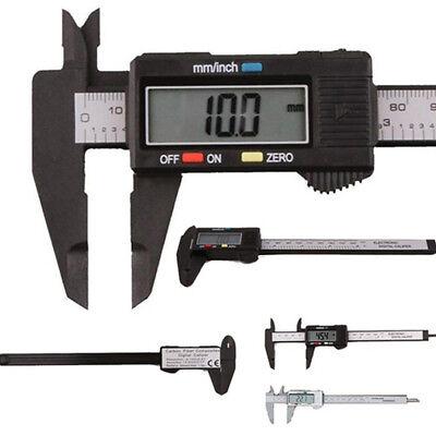 Digital Electronic Caliper Vernier Stainless Steel Gauge Micrometer Lcd 0-150mm