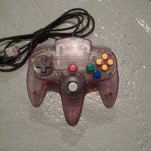 Atomic Purple N64 Controller Kitchener / Waterloo Kitchener Area image 1