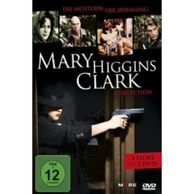 MARY HIGGINS CLARK COLLECTION (4 FILME/2 DVD) 2 DVD RIVALINNEN UVM NEU