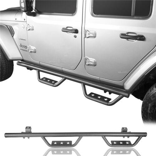 Matte Black Side Step Nerf Bar Running Boards For Jeep