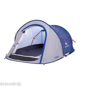 QUECHUA Tenda per campeggio escursioni 2 SECONDS EASY 2 posti NUOVA col.blu/grig - Italia - QUECHUA Tenda per campeggio escursioni 2 SECONDS EASY 2 posti NUOVA col.blu/grig - Italia