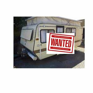 WANTED TO BUY OLD CARAVANS, POPTOPS AND WINDUP CAMPERVANS Montmorency Banyule Area Preview