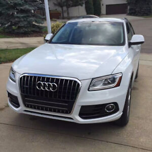2014 Audi Q5 SUV - White AWD -Barely Used 34000KM