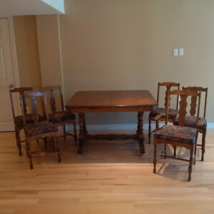 1940s Dining Room Set