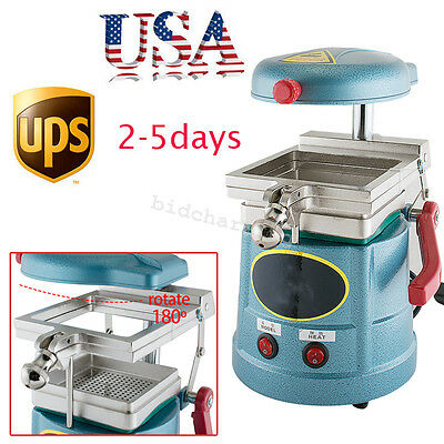 Dental Lab Equipment Vacuum Forming Molding Machine Former Thermoforming 1000W