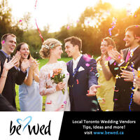 Toronto's Wedding Directory - Find Local Vendors on BeWed