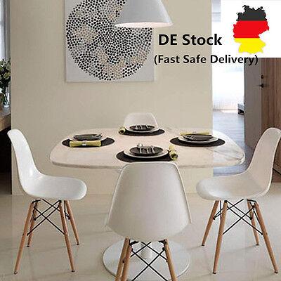 4er Set Stuhl DEKODesign Wohnzimmerstuhl Esszimmerstuhl weiße Freizeit Stühle